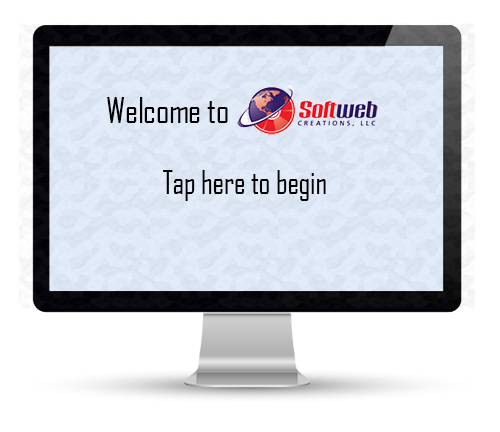 Visitor Welcome Screen
